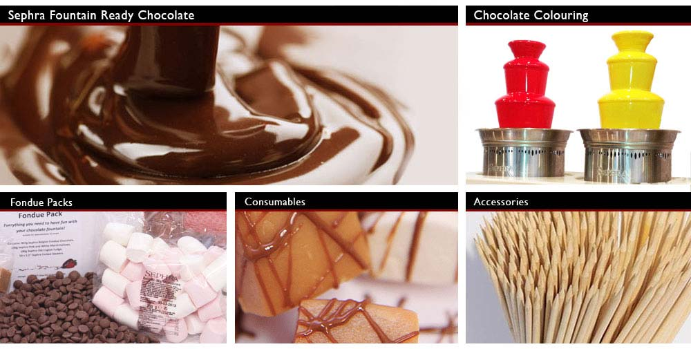Sephra Chocolate and Consumables